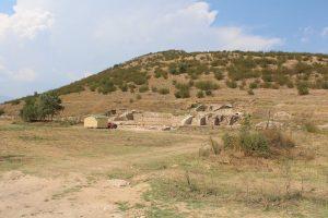 Общ изглед на разкопките