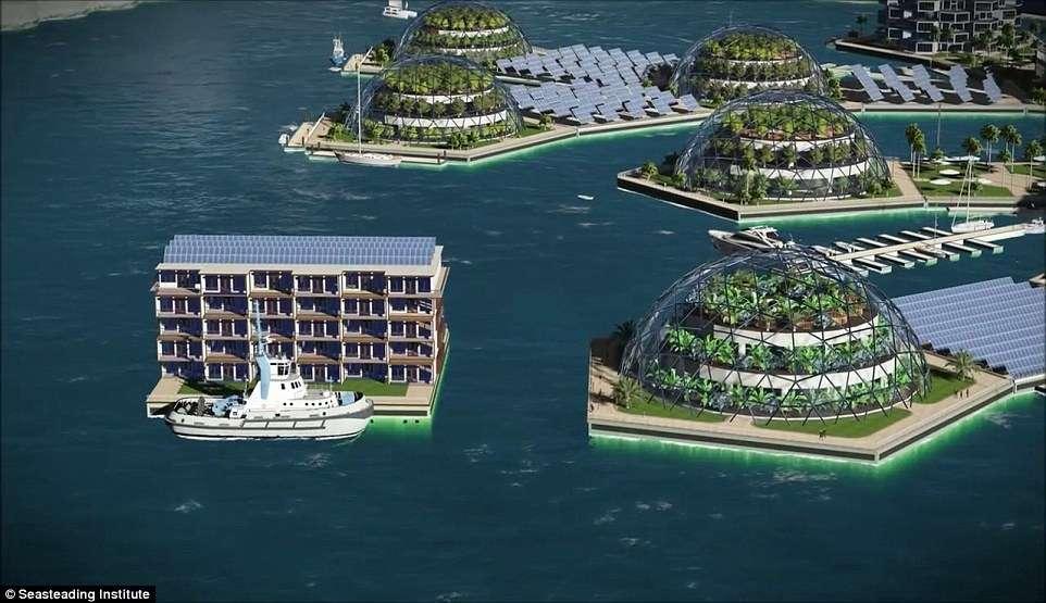 Плаващ град (Super Handy)